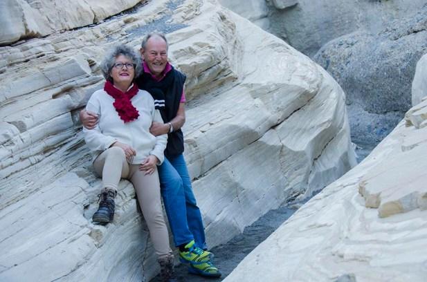 Angelina & Brad - Mosaic Canyon - Death Valley - USA
