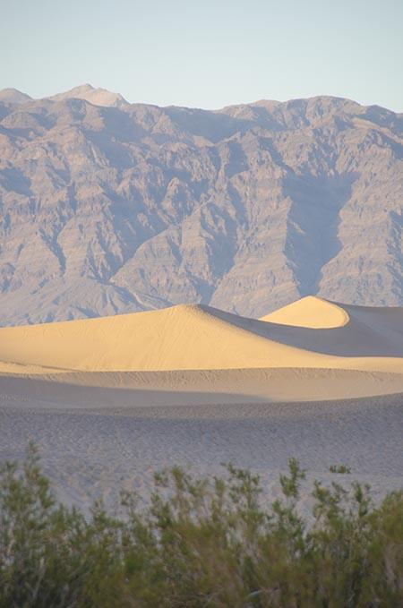 Dunes de sable - Death Valley - USA