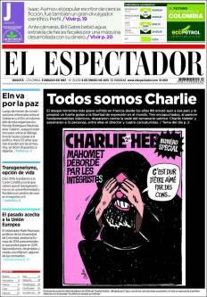 El Espectador - Colombie - Je suis Charlie