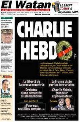 El Watan - Alger - Algérie - Je suis Charlie