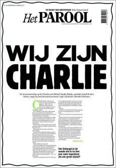 Het Parool - Pays Bas - Je suis Charlie