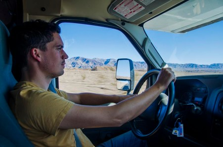 Le pilote - Death Valley - USA