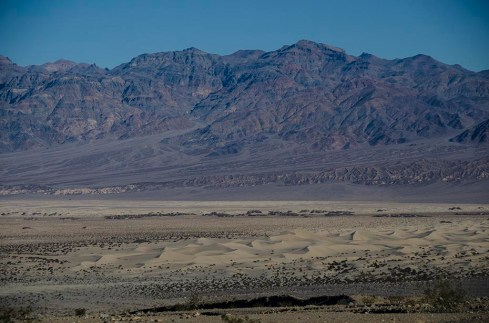 Les dunes de la Vallée de la Mort - Death Valley - USA