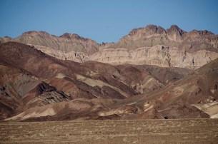 Montagnes noires - Death Valley - USA