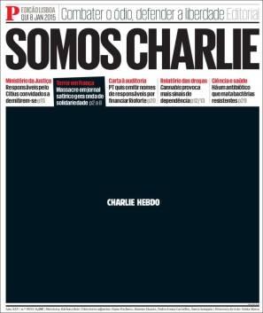 Público - Portugal - Je suis Charlie