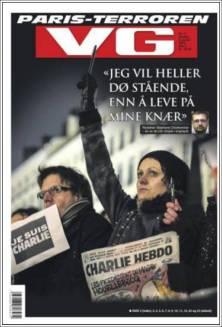 VG - Norvège - Je suis Charlie
