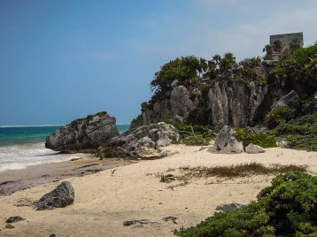 Le site de Tulum - Mexique (13)
