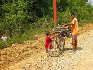 Passage de la frontière mexicano-guatémaltèque en direction de El Remate (3)