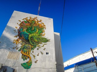 Street Art - Cancun - Mexique (2)