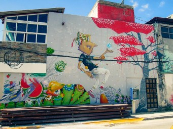 Street Art - Cancun - Mexique (4)