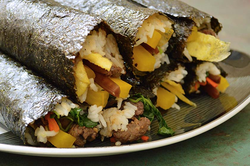Stacked Kimbap