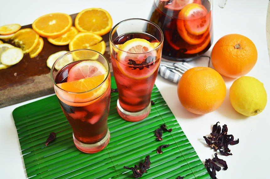 Roselle Lemonade
