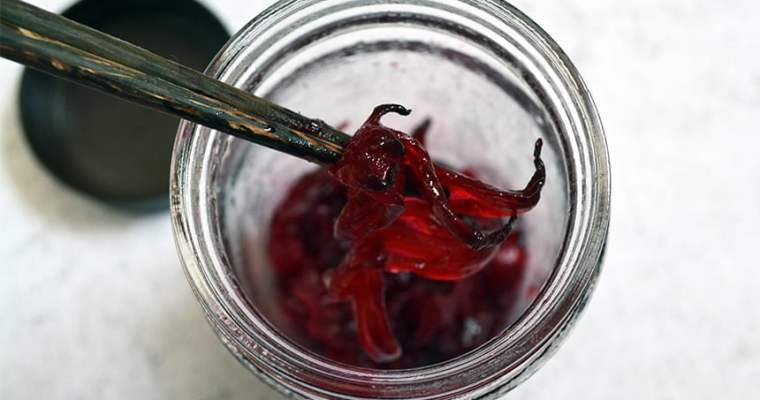Candied Roselle