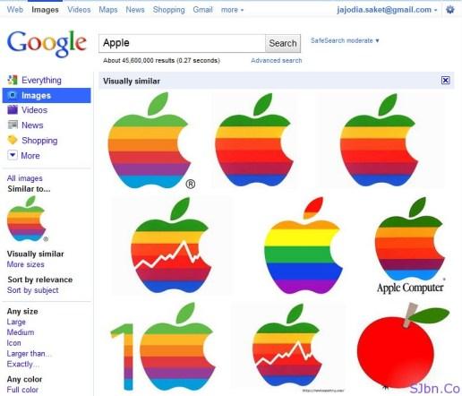 Google Image Search - Apple Similar Logo