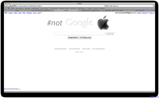 Personalized Google Homepage By @marcaum - 1virhz
