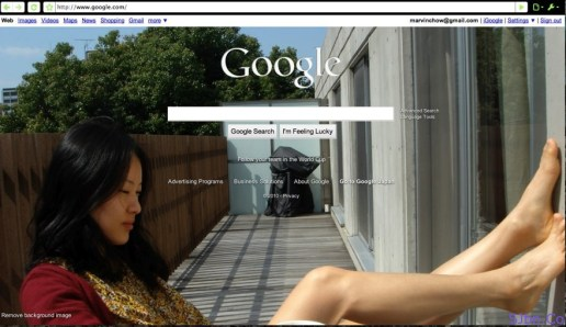 Personalized Google Homepage By @theREALmarvin - 1wgjxd