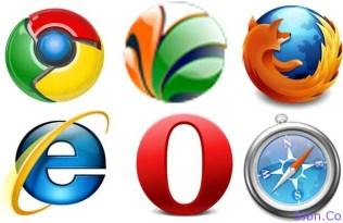 Six Major Browsers