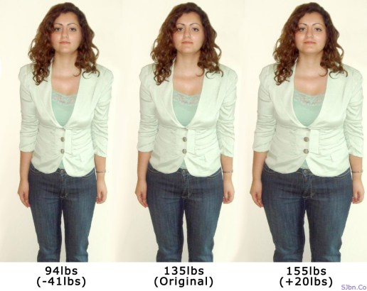 Lose and Gain Weight with WeightMirror