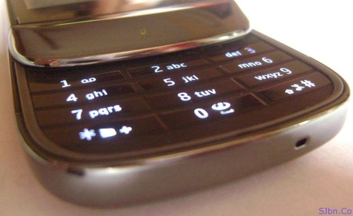 Nokia C2-02 Black Mobile Phone Keypad
