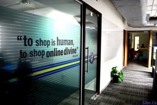 To shop is human, to shop online divine. - flip quote
