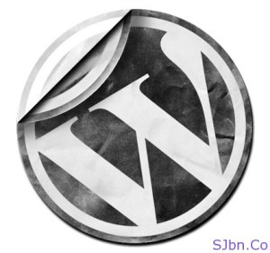 WordPress Black And White Logo