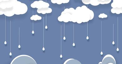 Clouds Rain Paper Raindrops  - Syaibatulhamdi / Pixabay