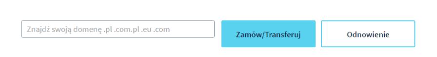 formularz rejestracji domeny