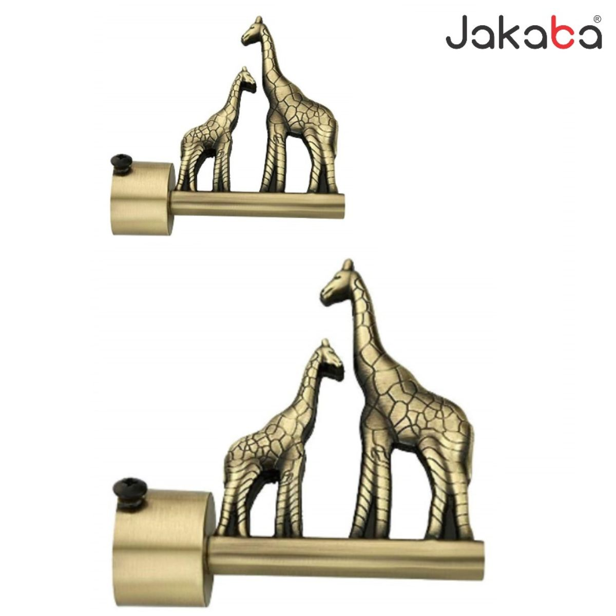 jakaba antique brass curtain finials without supports pack of 2 pcs 1 pair curtain brackets set holders jkbatq947 01 wos