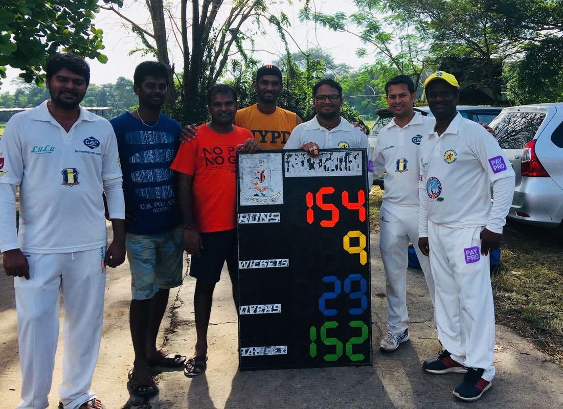 Srinivasan Govindraj led a spectacular fightback to give Challengers