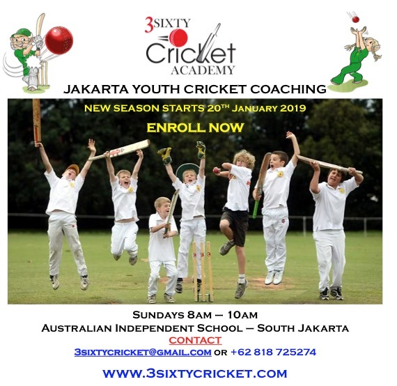 the next season of youth cricket coaching program begins on 20th