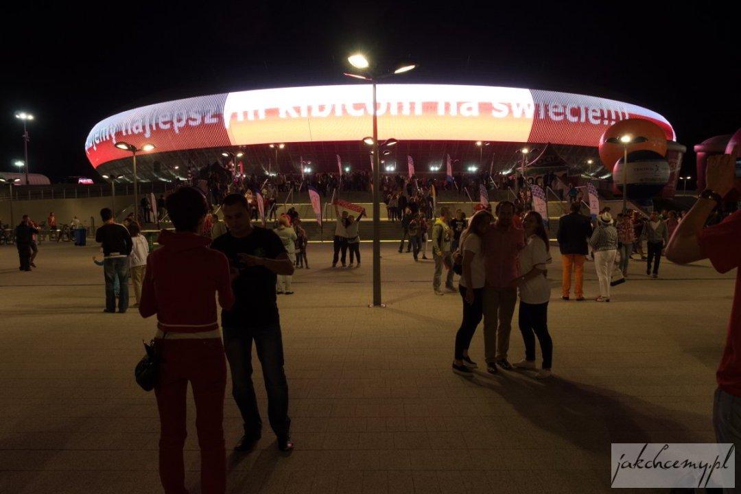 Arena Kraków najlepsi kibice na świecie