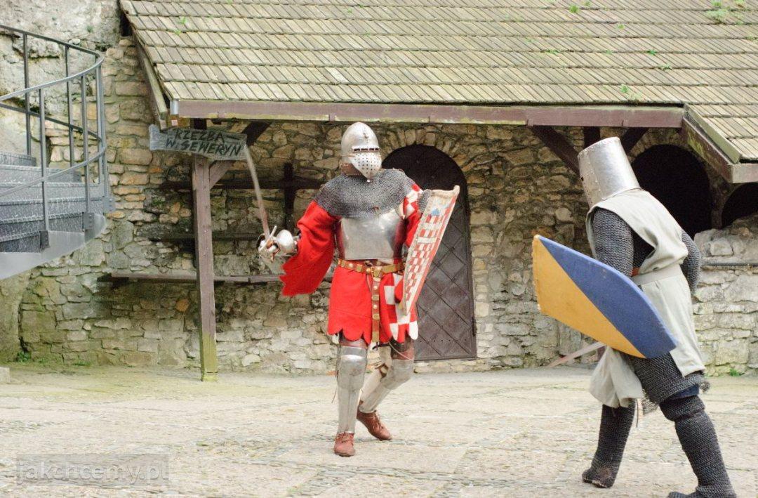 zamek walka rycerska
