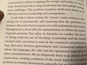 Kim Campbell - Leadership