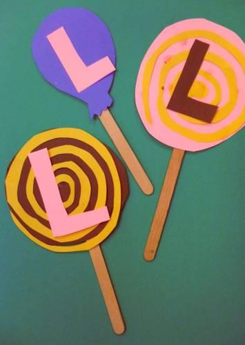 lollipop - Letter Art Challenge
