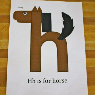 h-for-horse