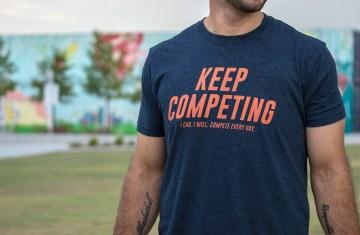Keep competing