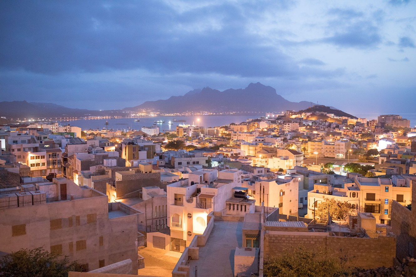 Mindelo, Cabo Verde, is the capital of the island of Sao Vicente.