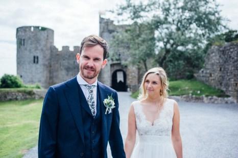 Manobier Castle wedding Photography-238