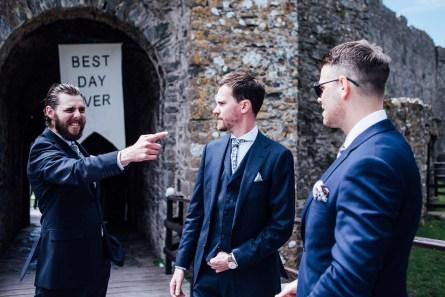 Manobier Castle wedding Photography-72