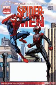 Jacob Reviews….Spider-Men #1
