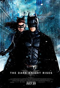 The Dark Knight rises Batman and Catwoman