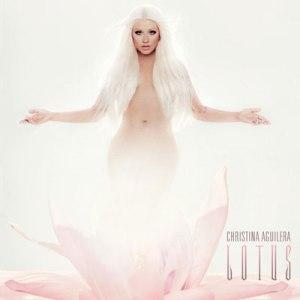Christina Aguilera Lotus album cover
