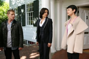 The Charmings and Regina Once Upon A Time