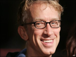 Controversial comedian Andy Dick will trade in his jokes for a pair of ballroom shoes as he participates in DWTS' 16th season (Photo property of the Associated Press)