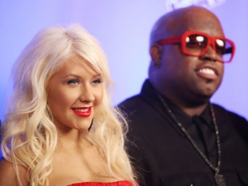 Xtina and CeeLo The Voice