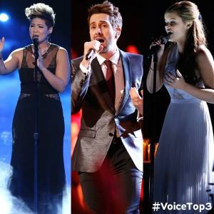 The Voice Season Five Final Three 2013