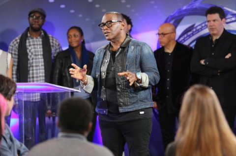 "Randy Jackson returned to ""American Idol"" as their new In-House mentor and coached the ""Idol"" contestants to Top 13 glory. (Photo property of 19 Entertainment, FremantleMedia North America & FOX)"