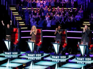 The Voice coaches season six