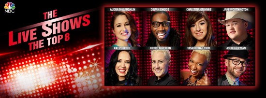 The Voice Season Six Top Eight