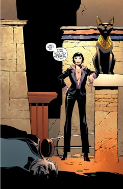 "Selina Kyle transformed herself from cat burglar to Queenpin of Crime as a result of ""Batman: Eternal"" (Artwork property of DC Comics)"